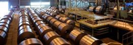 پیش بینی کاهش صادرات فولاد چین در سال 2016